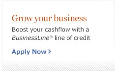Grow your business. Boost your cashflow with a Business Line line of credit. Apply Now.
